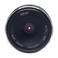 Meike 25mm F/1.8 Prime Lens APS-C for Fujifilm Xmount XT1 XP1 XE2 Mirrorless Cam