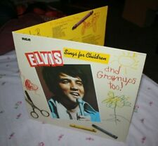 ELVIS PRESLEY-SINGS FOR CHILDREN AND...NEAR MINT GERMANY FIRST PRESS