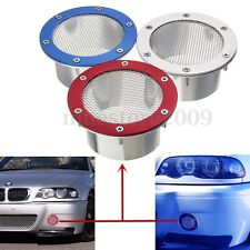 Universal Car Racing Air Duct Grille Bumper Vent Inlet For Cold Air Intake