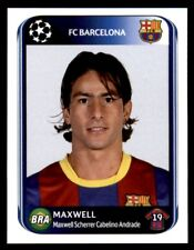 Panini Champions League 2010-2011 Maxwell FC Barcelona No. 214