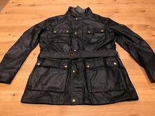 Belstaff Streetmaster Wax Jacket - Black - UK Size 44 Large New/Tagged  RRP £795