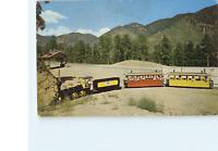 MINIATURE TRAIN NORTH POLE COLORADO COOPER POST CARD CO