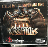 KREATOR - LIVE AT DYNAMO OPEN AIR 1998 NEW Sealed Cd Metal Free Post U.K.