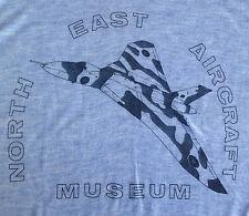 North East Aircraft Museum Genuine Vintage T-shirt - Vulcan Bomber Pilot ~ RARE!