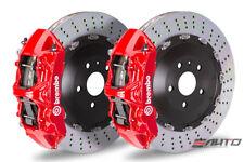 Brembo Front GT BBK Brake 6piston Red 405x32 Drill Disc Camaro SS ZL1 10-14