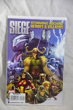 Marvel Comic Siege Storming Asgard: Heroes and Villains