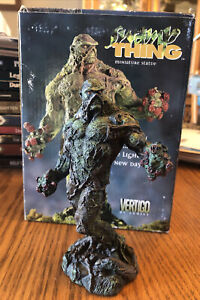 "Vertigo Swamp Thing Figure Porcelain 5.75"" Miniature Statue #2226/2500 DC Comics"