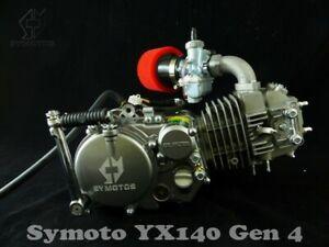 Gen 4 Symoto YX140 Engine, Z40 Cam Molkt Carb Loom YX160 Cooler Outer Rotor Kit