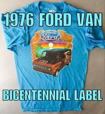 1976 Ford Chopper Van 70's vanning E150 E250 Custom Econoline VTG NOS T-shirt *