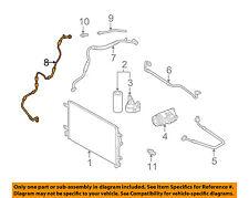 AUDI OEM 02-03 A4 A/C Condenser Compressor Line-AC Hose 8E1260710