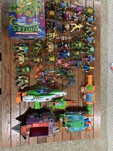 Teenage Mutant Ninja Turtles TMNT Vehicle Huge Lot Action Figures Mutant Module