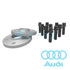 Audi Spacers Hub Centric 15mm | 5x112, 66.56 | 2 Pc Kit Black Ball Seat Bolts