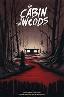The Cabin In The Woods Benedict Woodhead Poster Giclee Print Art 16x24 Mondo