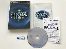 Star Ocean Till The End Of Time - Sony PlayStation PS2 - JAP - Avec Notice