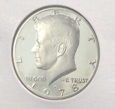 1978-S PROOF JOHN F KENNEDY HALF DOLLAR FROM MINT PROOF SET COPPER-NICKEL CLAD