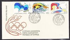 Cyprus 1980 Olympic Games First Day Cover