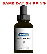Methylene Blue PURE 1 oz Antioxidant Brain Booster 1% Solution 591 drops