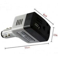 Voiture Mobile Convertisseur Adaptateur DC 12V/24V à AC 220 V Chargeur D'AlimentAtion + USB SY