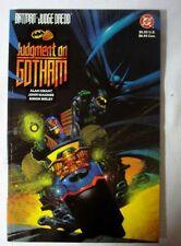 Batman Judge Dredd Judgement on Gotham SC GN (1991 DC) FP VF