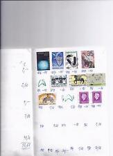Lot  Sammlung Albumblatt  Niederlande  (6)   Auswahlheftseite  gestempelt
