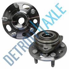Set (2) New FRONT Wheel Hub and Bearing Assembly for Chevy Equinox Terrain w/ABS