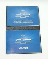 02 2002 Chevrolet Venture owners manual