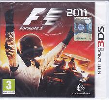 Nintendo 2DS~3DS «FORMULA 1 ~ F1 ~ 2011» nuovo sigillato italiano