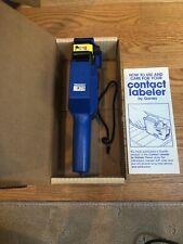 Garvey Price Labeler Gun 18-6 Contact Blue Pricer