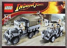 Lego Indiana Jones #7622 Race For  Stolen Treasure New Sealed (272PCS)