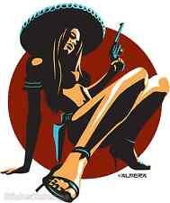Chica Peligrosa Sticker Decal Artist Marco Almera MA25