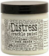 Distress Crackle Paint 4Oz - Clear Rock Candy - Tim Holtz - Ranger