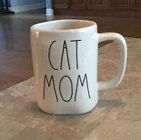 New Rae Dunn CAT MOM Mug