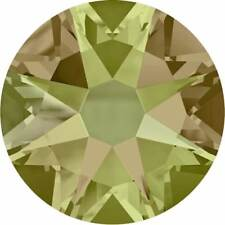 72 Swarovski Crystal Luminous Green Flatback non Hotfix Rhinestone SS20 2058