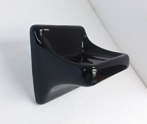 Black Ceramic Soap Dish Tray Holder Vintage Over Sink Shower Kohler Color K111