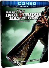 NEW STEELBOOK BLU-RAY+DVD COMBO // Inglourious Basterds - TARANTINO - BRAD PITT