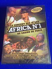The concert of the 15th anniversary of Africa No 1 at the Casino de Paris DVD