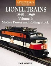 GREENBERG'S GUIDE TO LIONEL TRAINS 1945-1969 VOL I MOTIVE POWER & ROLLING STOCK!