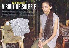 COUPURE DE PRESSE CLIPPING 2007 Ingrid Betencourt  (4 pages)