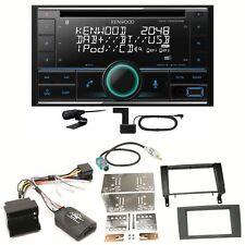 Kenwood DPX-7200DAB Bluetooth DAB+ USB Einbauset für Mercedes SLK R171 ab 2008