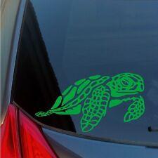 Sea Turtle vinyl sticker decal Hawaiian green honu Hawaii Pacific Molokini Oahu