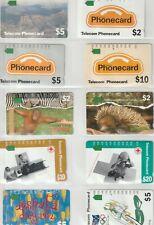 Collectie telefoonkaarten Australië / Phone card collection Australia