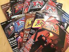 10 x TV Zone Magazines #46, #59, #61, #62, #64, #68, #69, #70, #71, #74