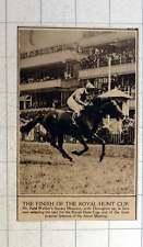 1920 Finish At The Royal Hunt Cup Mr Reid Walker Square Measure Donoghue Up