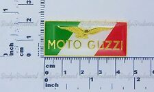 Moto Guzzi Tri Colour Lapel Pin Badge