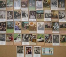 More details for song cards postcards job lot of 40x vintage postcards, mostly by bamforth
