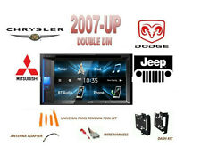 2007-UP JEEP CHRYSLER DODGE COMBO KIT Touchscreen Bluetooth Stereo DVD USB