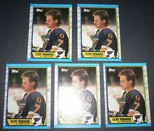 Ronning, Cliff RC 1989-90 Topps Vancouver 5 Card Lot