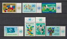 S10895) United Nations (Vienna Wien) MNH 1979, Definitives 6v+ Lab Right