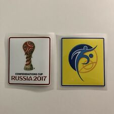 FIFA Confederations Cup Russia 2017 & FIFA Fair Play Sleeve Badge Patches