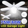 15000lm E27 LED Garage Light Deformable Ceiling Light Bulb Fixture Workshop Lamp